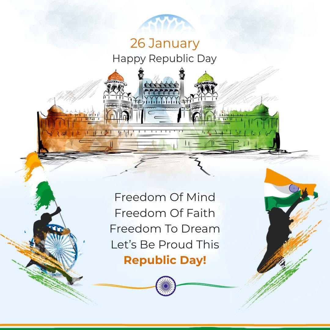 happy republic day wishes 2021