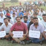 चंडीगढ़ प्रशासन के खिलाफ आल कांटरैकचुअल कर्मचारी संघ ने रैली प्रदर्शन किया