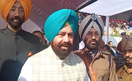 71st Republic Day was held at the Guru Nanak Stadium in Amritsar