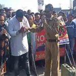 साम्बा पुलिस ने मुख्य चौक पर नशो के खिलाफ नुक्कड़ नाटक का आयोजन करके लोगों को जागरूक किया