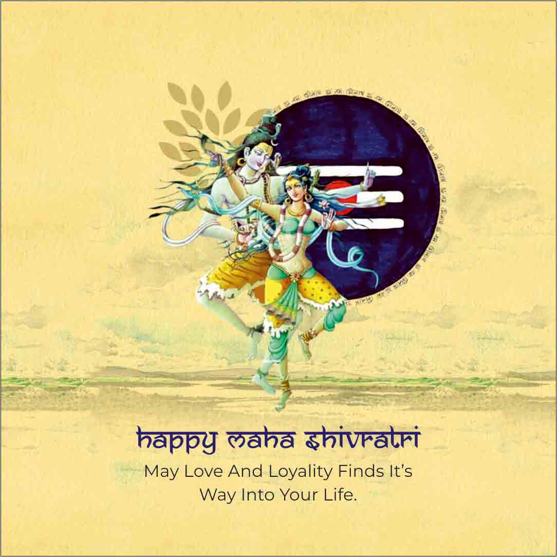 Happy Maha Shivratri May Love And Loyality Finds It's Way Into Your Life