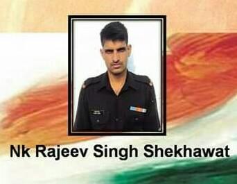 Dead body of martyr jawan sent to Jaipur after post mortem in Digawar, Poonch