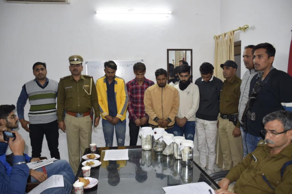 Haryana Plioice Arrest 5 for ATM Theft