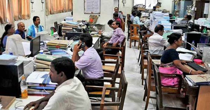 Now Secretariat employees will not disappear from seats