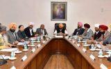 Punjab cabinet meeting held on 18 February