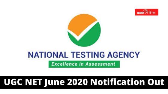 UGC NET June 2020 Notification Out