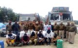 A truck carrying drugs to Amritsar was recovered from Ludhiana