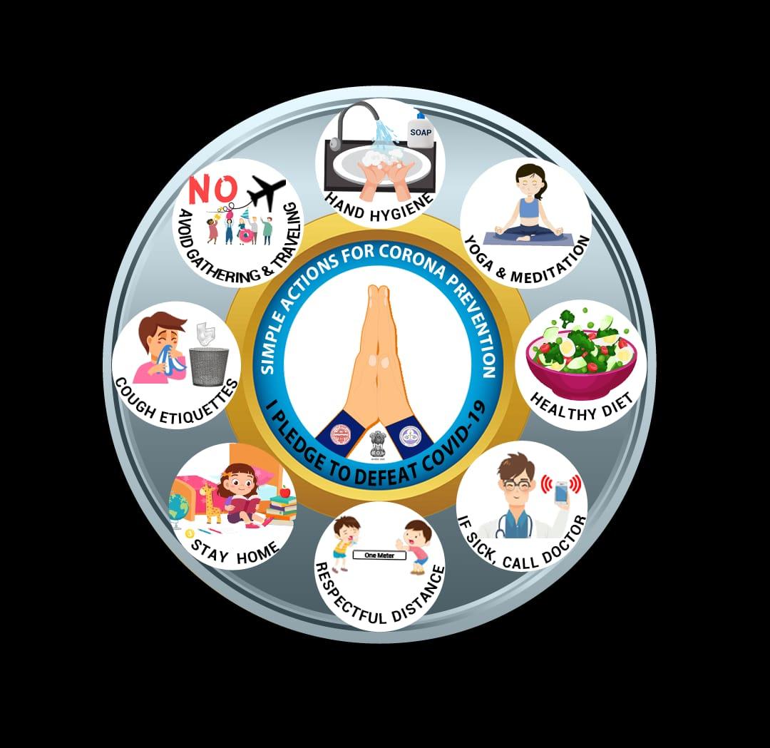 PGI Chandigarh & PU Chandigarh Releases A Public Health Shield To Prevent The Spread Of Corona Virus