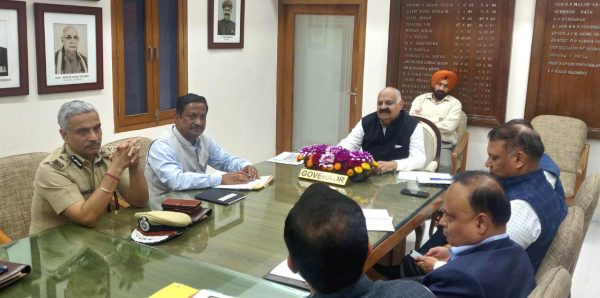 Administrator Reviews the action taken to control the spread of COVID 19 in Chandigarh