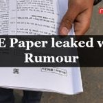 CBSE Paper leaked was a Rumour