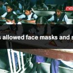 CBSE has allowed face masks and sanitizers