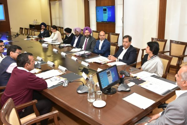 "Punjab Chief Secretary Launches "" COVA PUNJAB "" Mobile APP"