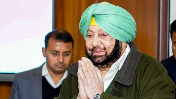Chief Minister Captain Amarinder Singh