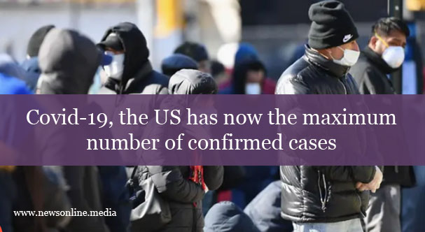 Covid-19, the US has now the maximum number of confirmed cases