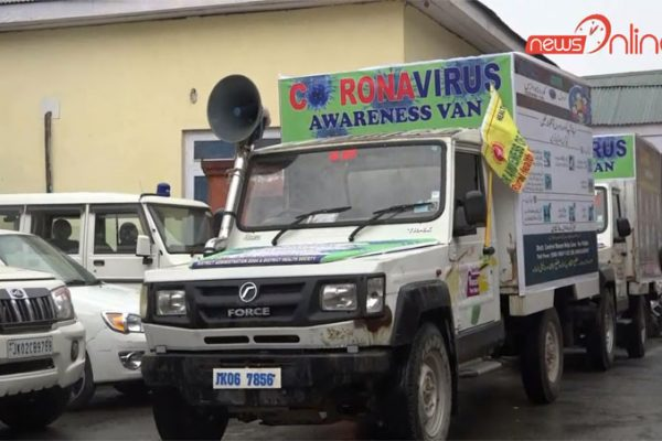 DDC Doda Flag Off Corona Virus Awareness Van
