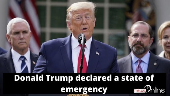 Donald Trump declared a state of emergency
