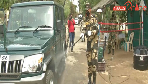bsf ready to fight every situation of corona virus