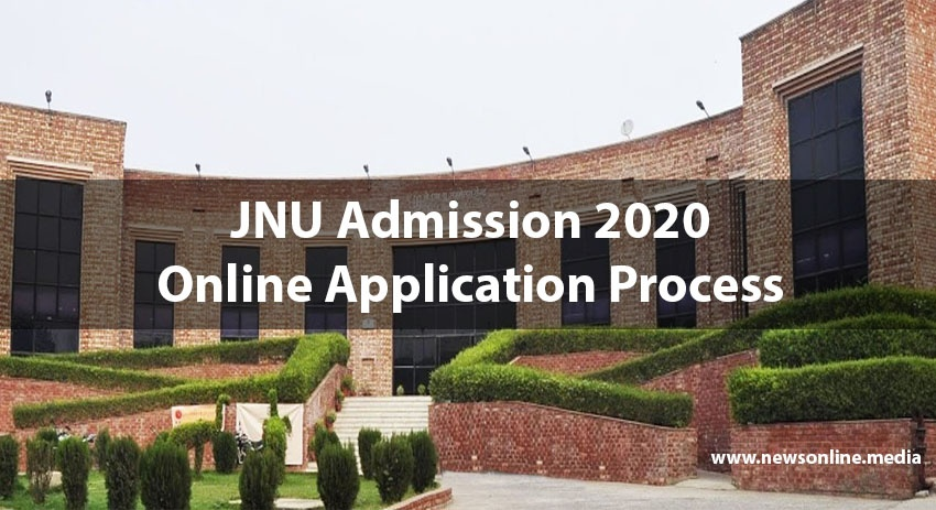 JNU Admission 2020 Online Application Process