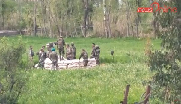 Army Destroy Live Pak Shell Who Landed in Poonch City