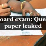 PU Board exam: Question paper leaked