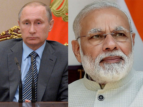 Modi and Putin Phone Call