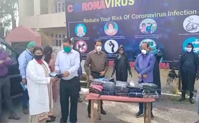 450 safety kits distributed for the protection of doctors