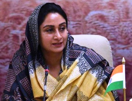 Harsimrat Kaur Badal chaired a video conference with FICCI