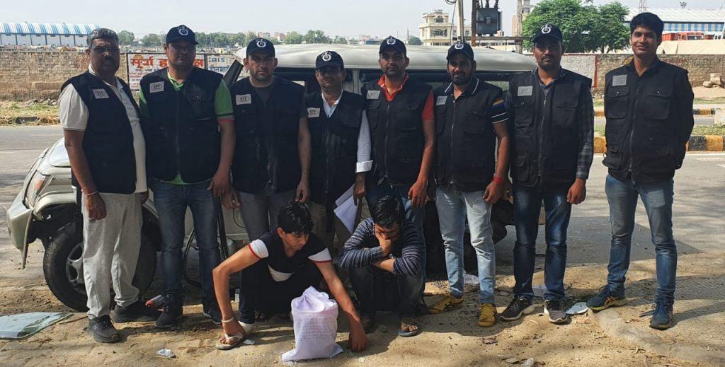 हरियाणा में करोड़ों रुपये की 1 किलो हेरोइन जब्त, दो आरोपी काबू