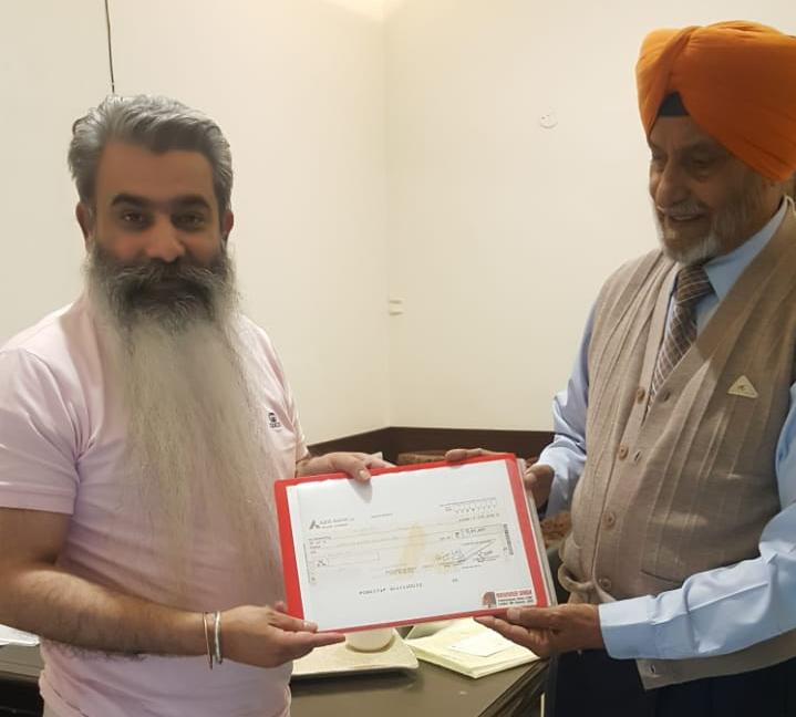 Ex-commandant donates Rs5 lakh out of his pension account for Punjab CM relief fund