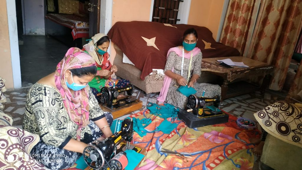 400 SHGs financed by local bodies are making medically viable masks and gloves-Brham Mohindra