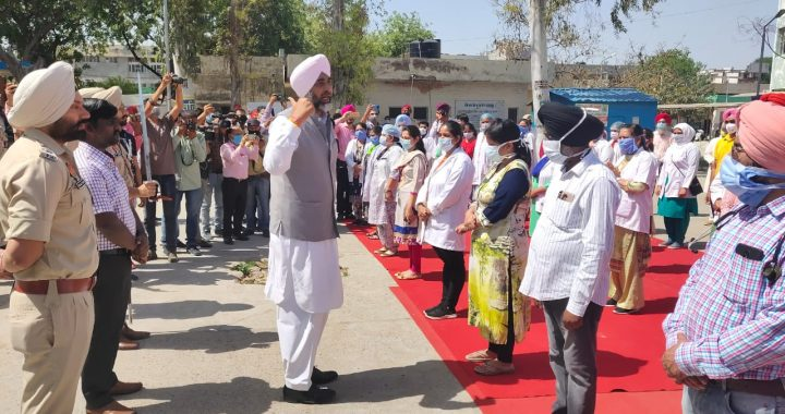COVID-19 warriors to be awarded medals - Manpreet Badal