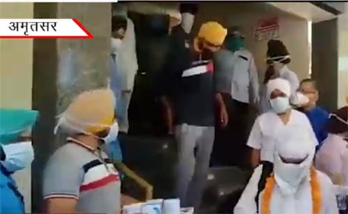 51 pilgrims defeated Corona in Amritsar