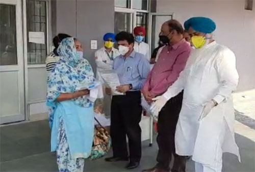 81 corona patients of district taran taran were cured