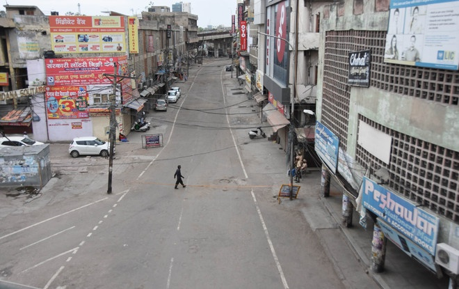 Ludhiana falls in the Red Zone,Shops to Open from 7 am to 11 am only.
