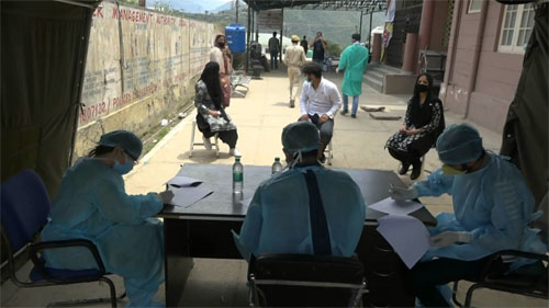 Over 1000 samples being taken in doda district per day