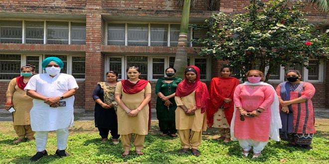 10 girl trainees of Govt ITI (Women) Mohali selected