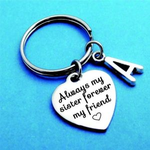 Personalized Keychain Sister