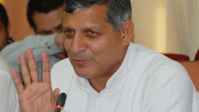 Haryana Forest And Environment Minister, Mr. Kanwar Pal