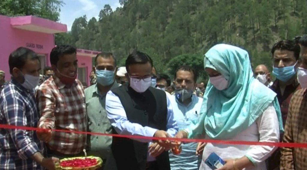 DC Doda Inaugurated Fruit
