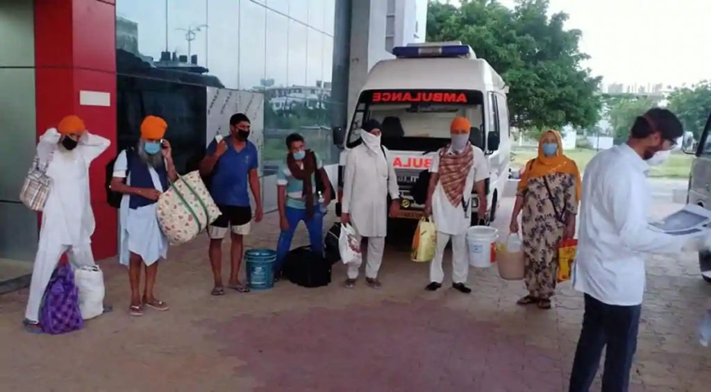 Three patients discharged from Gian Sagar, DC Girish Dayalan