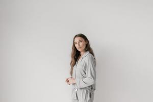 Cosy Earth Stretch Knit Bamboo Pajama Set