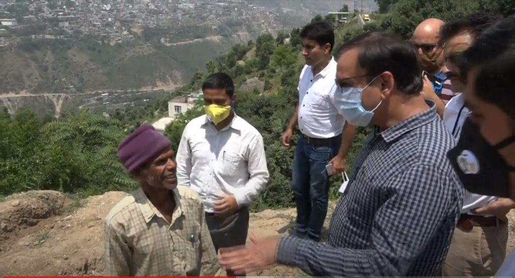 Director Rural Development Visits Doda