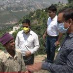 Director Rural Development Visits Doda