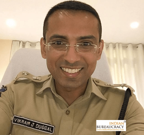 Vikram Jeet Duggal, an IPS officer