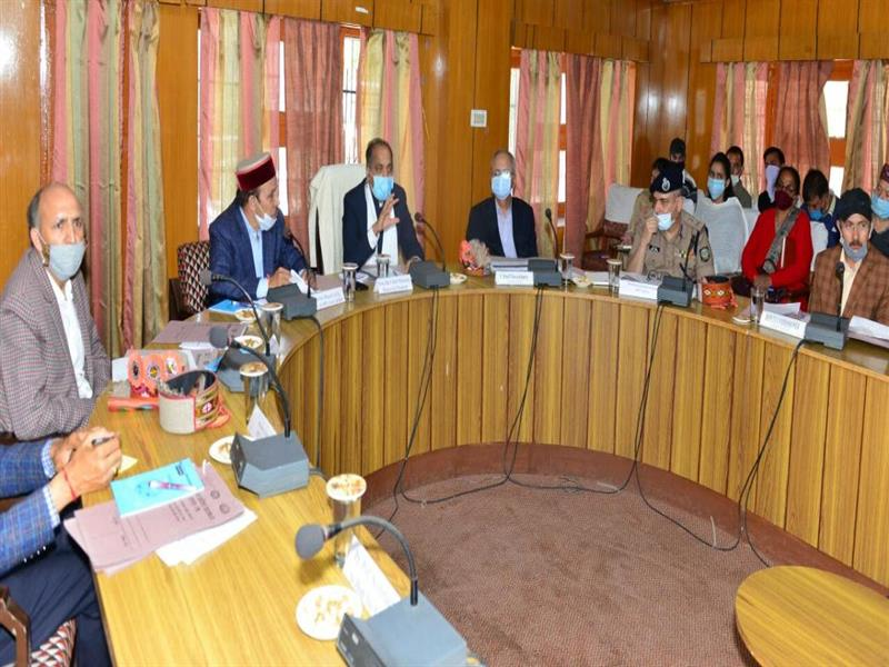 CM reviews preparations of inauguration ceremony of Atal Tunnel Rohtang