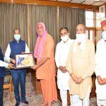 Shri Satguru Chetna Nand calls on Chief Minister