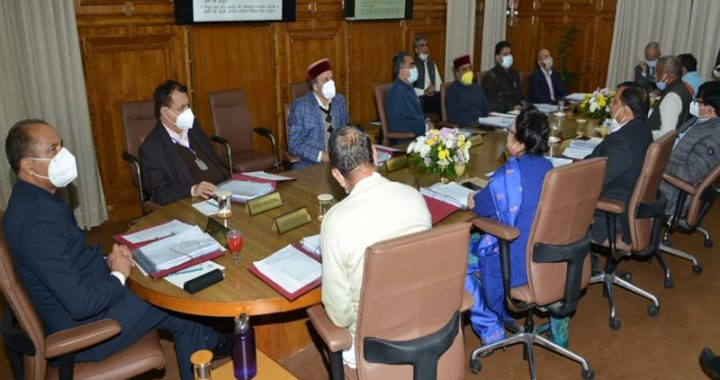 H.P. Cabinet Decisions
