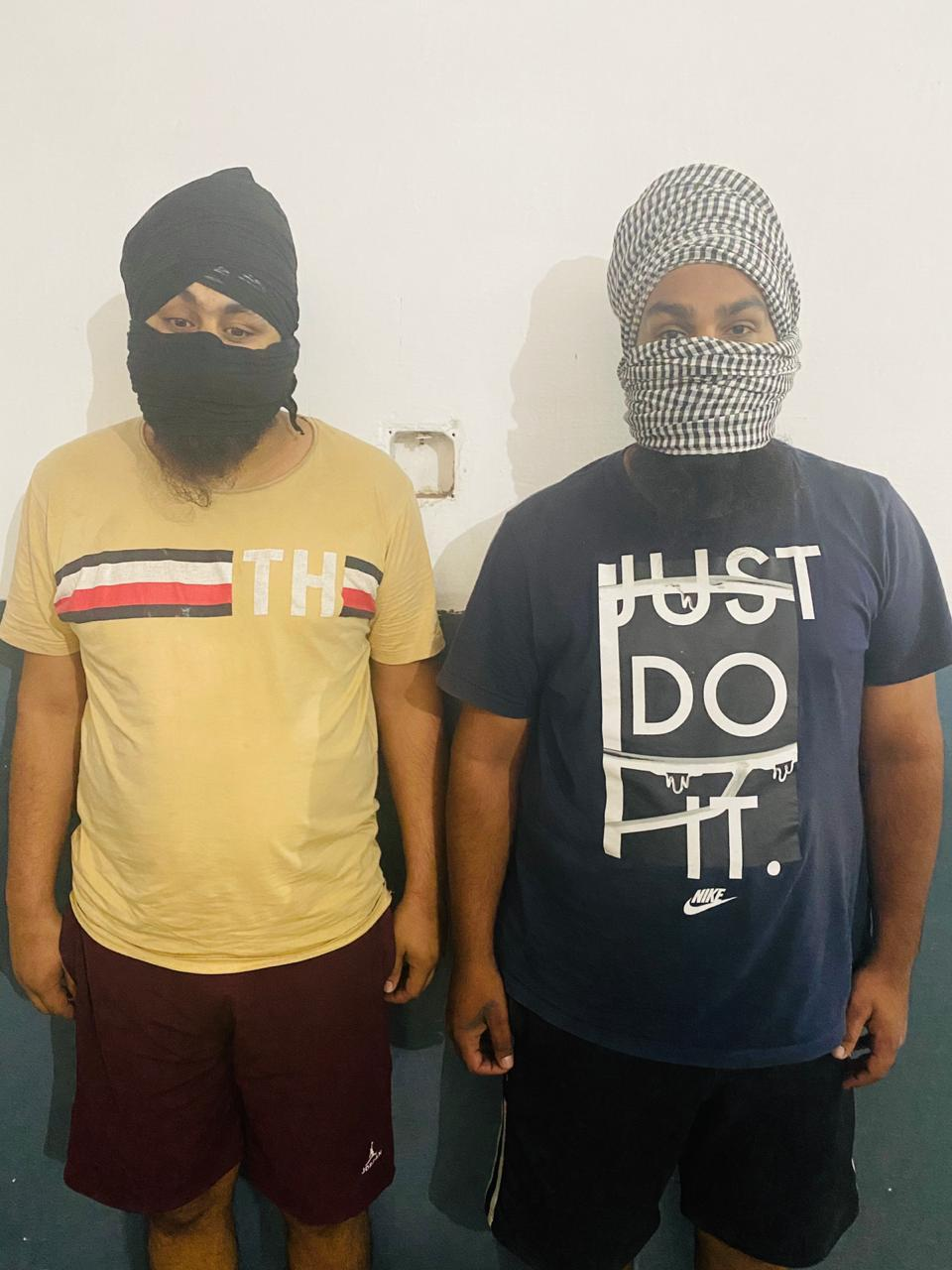 PUNJAB POLICE ARRESTS TWO ACCOMPLICES OF INTERNATIONAL DRUG SMUGGLING RACKET BEING OPERATED BY FORMER BSF CONSTABLE
