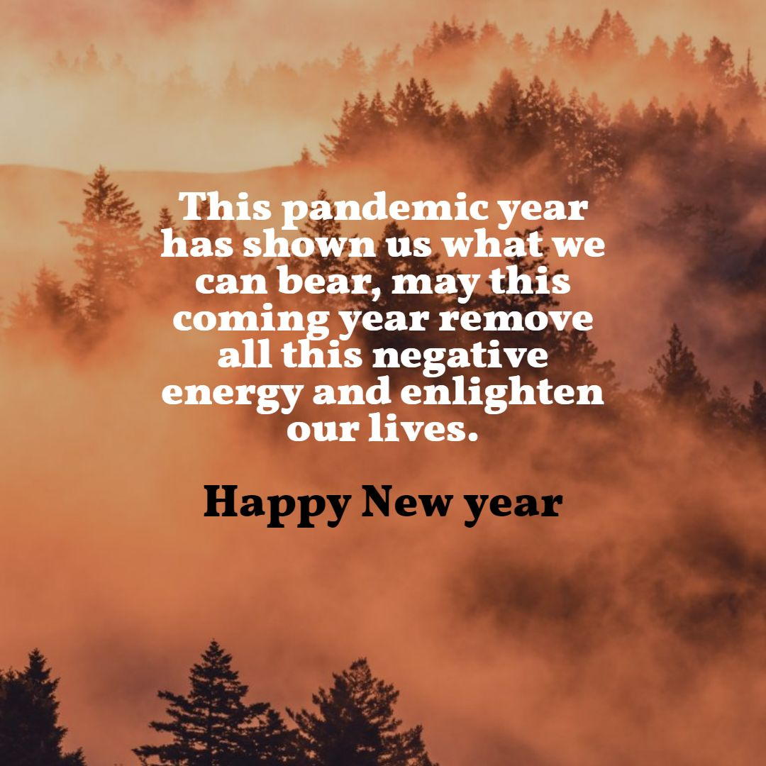 10 Happy New Year Wishes, Quotes and Images for 2021