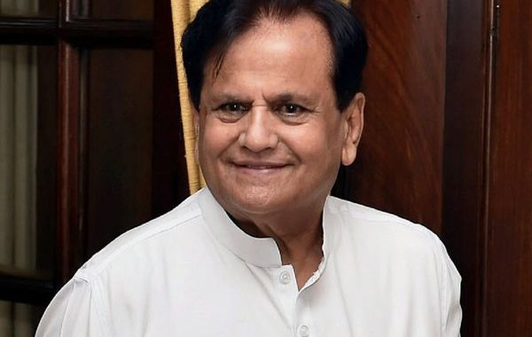 CM Condoles demise of Ahmed Patel